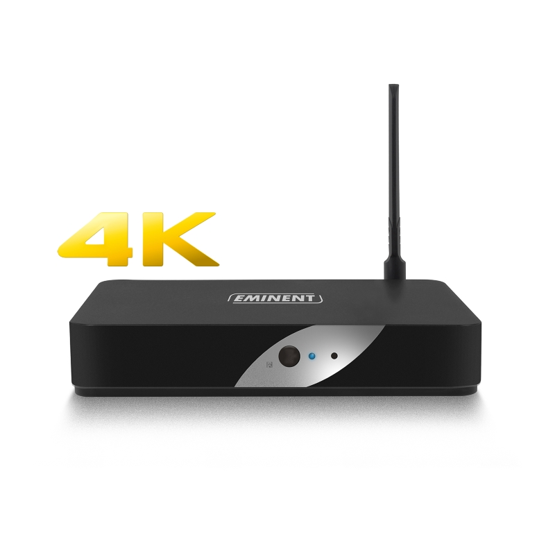 EM7680 | Media Player Streamer 4K Wifi LibreELEC Kodi | Eminent | distributori informatica