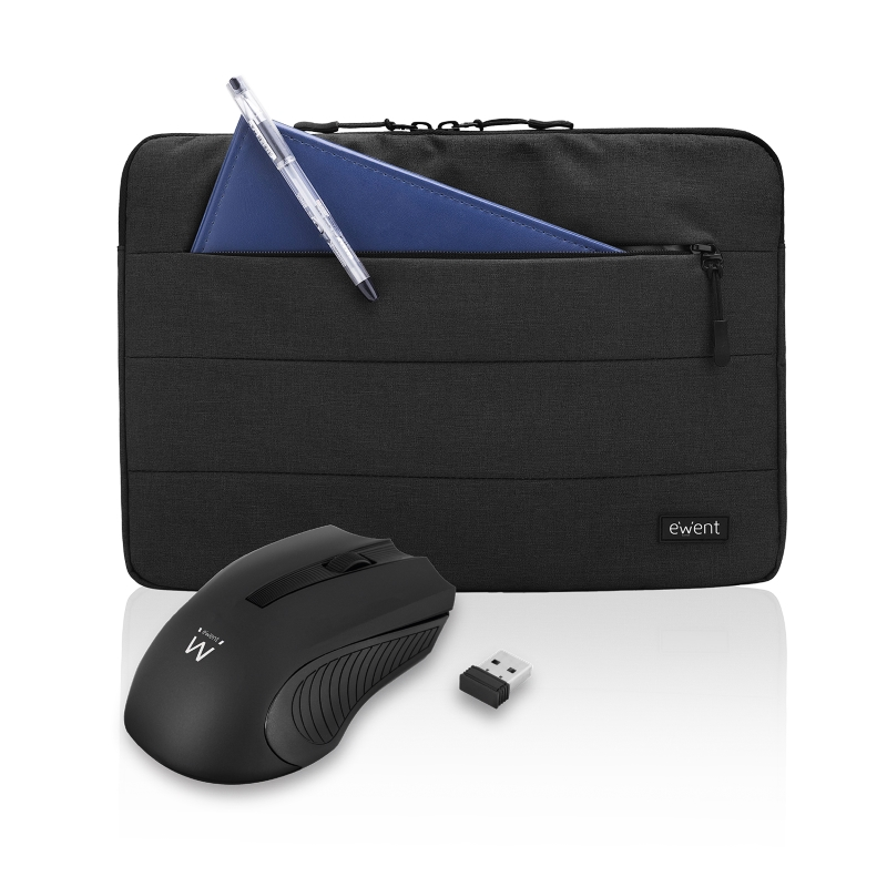 EW2533 | Sleeve 15.6 pollici con Mouse Wireless | Ewent | distributori informatica