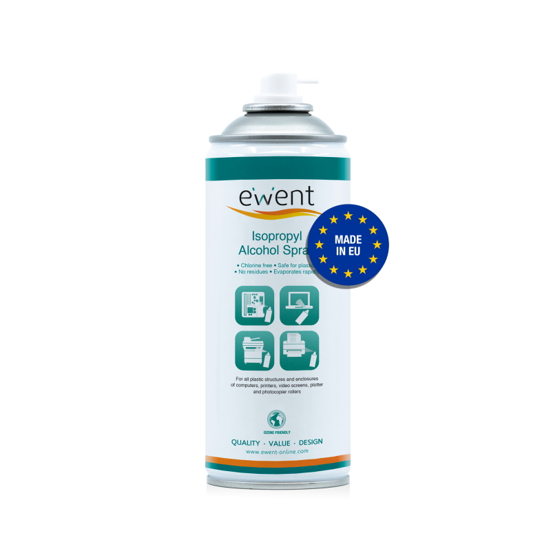 EW5611 | Spray Alcool Isopropilico 400ml | Ewent | distributori informatica