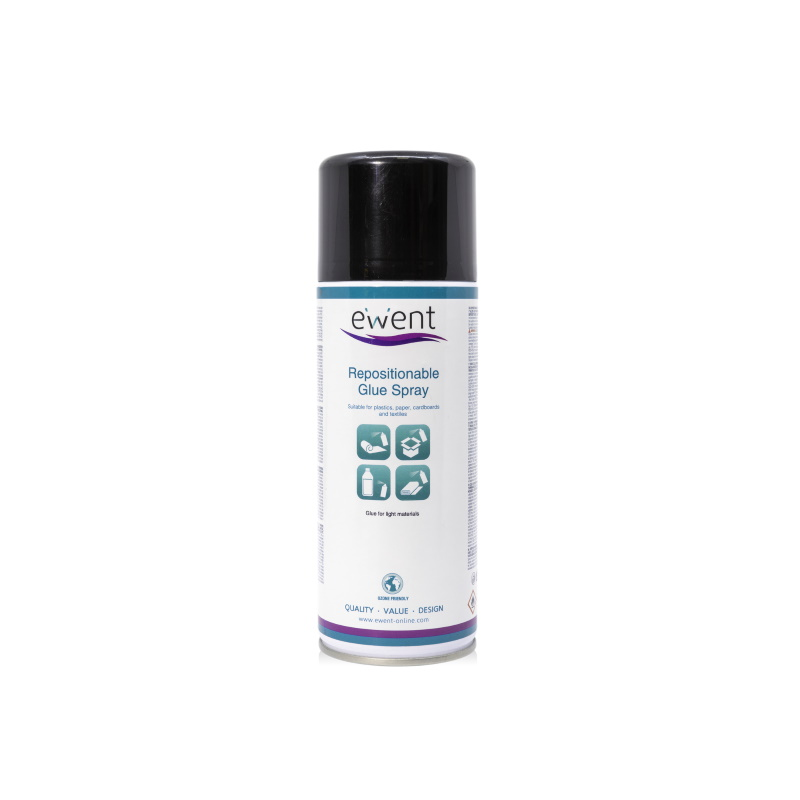 EW5625 | Spray Colla riposizionabile 400ml | Ewent | distributori informatica