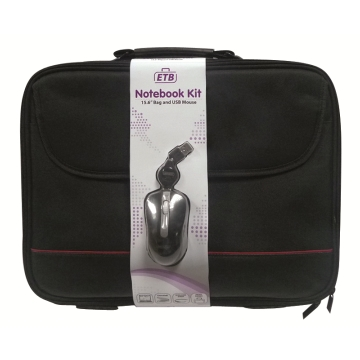 "EW2505 | NOTEBOOK KIT BORSA 15,6"" E MOUSE USB 